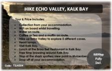 Hike Echo Valley Kalk Bay