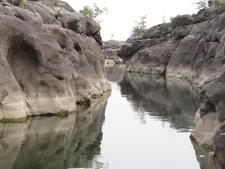 Potholes In Nighoj River