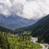 The Lidder Valley At Pahalgam