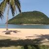 Tumaquin Island From The White Sand Beach Of Sicogon Island