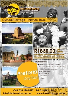 Thalerra Tours Digital Ad Pretoria Day Tour