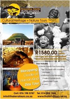 Thalerra Tours Digital Ad Maropeng Cradle Tour