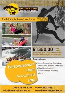 Thalerra Tours Digital Ad Hartbeespoort Dam Adventure Tour