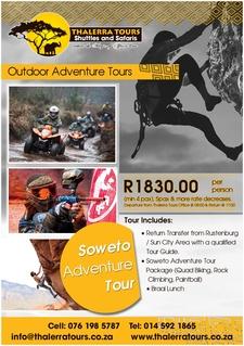 Thalerra Tours Digital Ad Soweto Adventure Tour