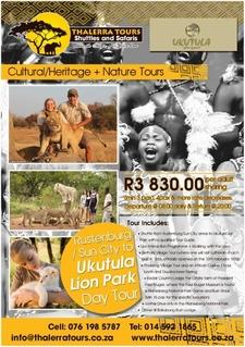 Thalerra Tours Digital Ad Ukutula Lion Park