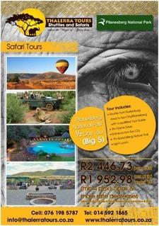 Thalerra Tours Digital Ad Pilanesberg