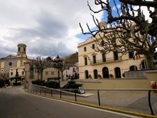 Town Hall And Church, Sant Andreu De Llavaneres