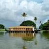 A Kettu Vallam (House Boat) In The Vembanad Lake