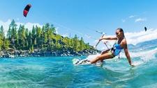 Kiteboarding Course On Lake Tahoe
