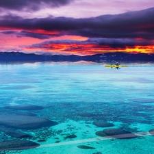 Lake Tahoe Sunset Kayak Tour