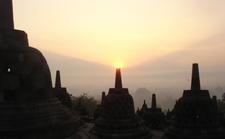 Borobudur Sunrise 01