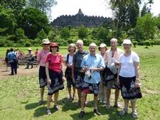 At Borobudur Temple Park