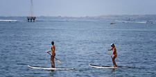Stand Up Paddle Yoga Sanur 8