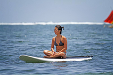 Stand Up Paddle Yoga Sanur 4