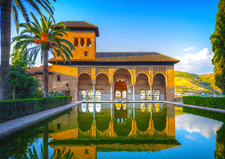 Touring The Alhambra - Collette