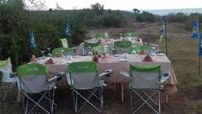 Forest Dinner At Mweya Safari Lodge