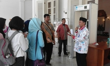 Guiding In Jakarta City Hall