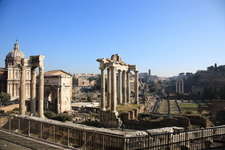 View On The Roman Forum