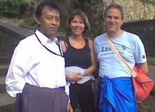 Me And Italian Tourist In Bali