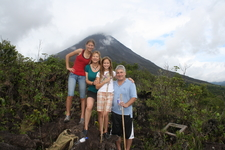 Family Hike At Arenal Volcano Costa Rica