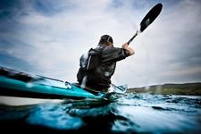 Cycling Sea Kayaking
