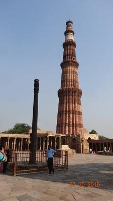 Qutab Minar N Iron Pillar, Delhi