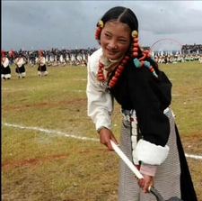 The North Tibetan During Them Festival
