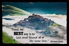 Travel The Best Way To Be Lost And Found