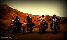 Motorbike Tours India 4