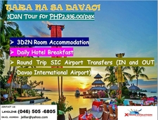 New Davao Tour