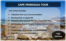 Tsa022 Cape Peninsula Tour