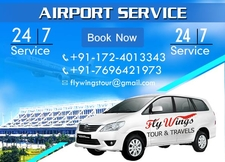 Airport Taxi Service In Chandigarh