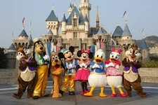 Characters In Front Of Castle