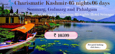 Charismatic Kashmir Tour Package