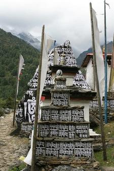 Monastery In Himalaya