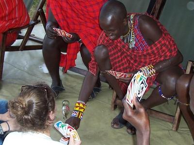 Masai Playing Cards