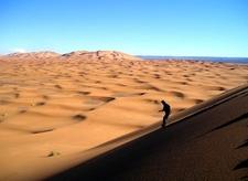 Merzouga Sandboarding