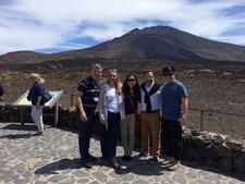 Vip Group In Mount Teide