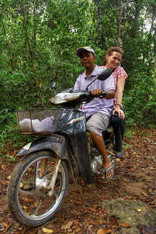 On The Road In Kulen Mountains