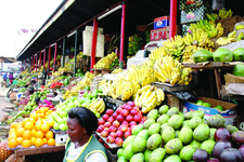 Market Nakasero Uganda