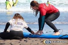 Melina Aprender Surf