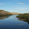 Red Deer River In Drumheller