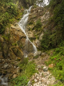 Water Fall On The Inca Trail