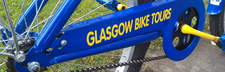 Bike Tours Sightseeing Things To Do Glasgow Banner
