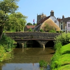 Bridge In Nunney Enhanced