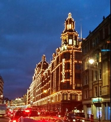 Harrods London At Christmas