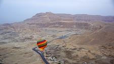 Hatshepsut Temple From Balloon