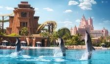 Dubai Aquarium And Aqua Venture From Port