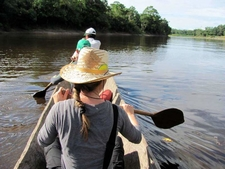 Amazon Explorer Iquitos Peru Expeditions Tours Adventure, Looking For River Dolphins In The Jungle