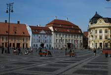 The Large Square Of Sibiu